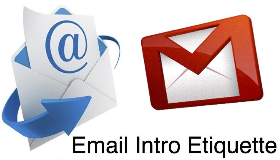 Email Intro Etiquette
