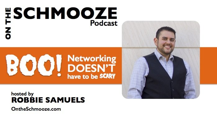 OTS 018: BOO! Networking doesn't have to be scary – Robbie Samuels