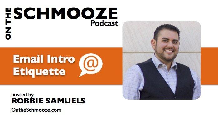 OTS 030: Email Intro Etiquette – Robbie Samuels