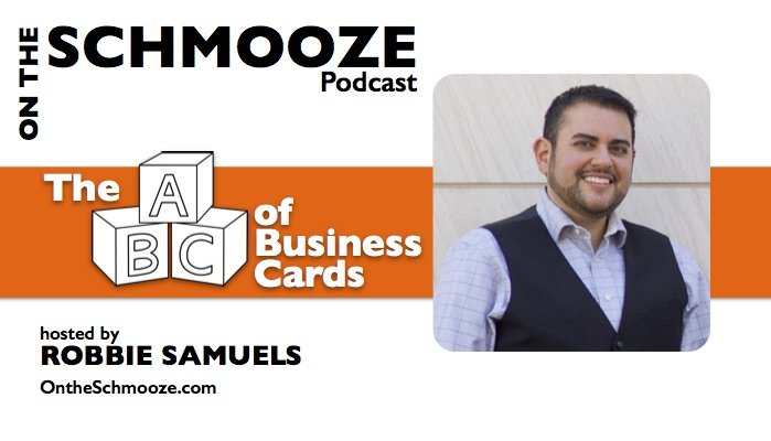 OTS 036: The ABCs of Business Cards – Robbie Samuels