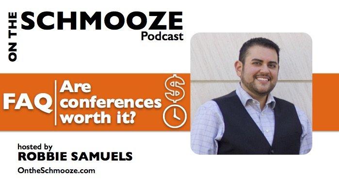 OTS 040: FAQ: Are conferences worth it? – Robbie Samuels