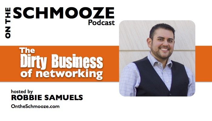 OTS 042: The Dirty Business of Networking – Robbie Samuels
