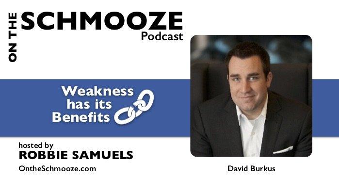 OTS Encore 091: Weakness has its Benefits – David Burkus
