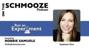 OTS 243- Run an Experiment - Stephanie Sims