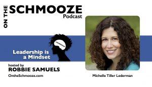 107 graphic _Leadership is a Mindset_ - Michelle Tiller Lederman